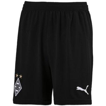 Puma FußballshortsBorussia Mönchengladbach Shorts 2018/19 schwarz