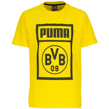 Puma Fan-T-Shirts gelb