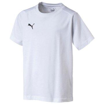 Puma T-Shirts weiß