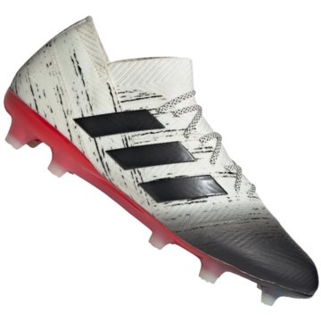 adidas Nocken-SohleNemeziz 18.1 FG weiß