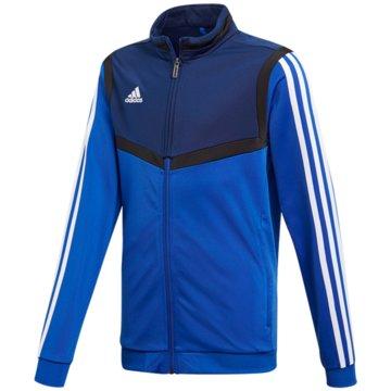adidas TrainingsjackenTIRO19 PES JKTY - DT5789 blau