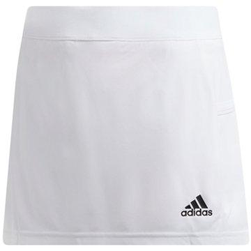 adidas HosenröckeT19 SKORT Y - DW6853 weiß