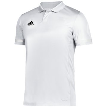 adidas PoloshirtsTEAM 19 POLOSHIRT - DW6889 weiß