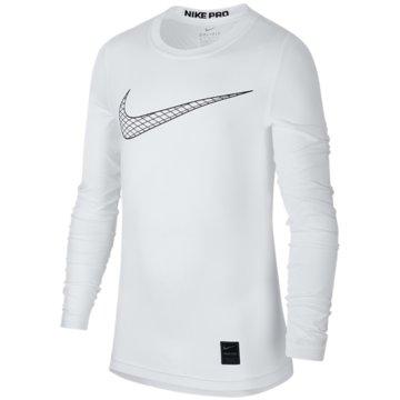 Nike Langarmshirt weiß