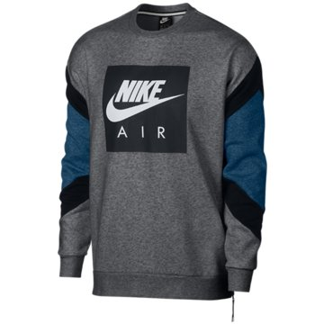 Nike SweaterAir Fleece Crew grau
