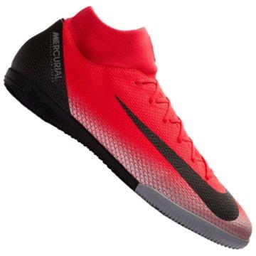 Nike HallenschuheMercurial Superfly X VI Academy CR7 IC rot