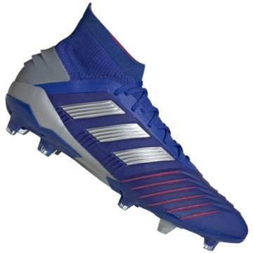 adidas Nocken-SohlePredator 19.1 FG Fußballschuh - BB9079 blau