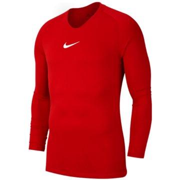 Nike FußballtrikotsNIKE DRI-FIT PARK FIRST LAYER KIDS' - AV2611 rot