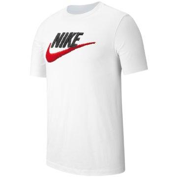 Nike T-ShirtsSPORTSWEAR - AR4993-100 weiß