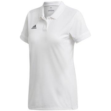 adidas PoloshirtsT19 POLO W - DW6878 weiß
