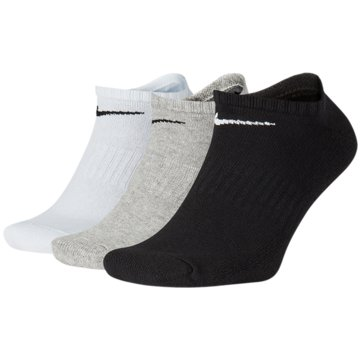 Nike Hohe SockenEveryday Cotton Cushioned No-Show Socks 3PPK -
