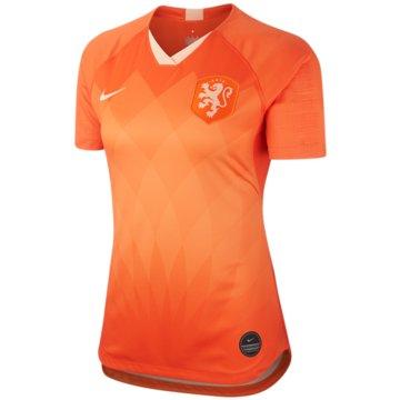 Nike Fan-TrikotsNiederlande 2019 Stadium Home Jersey Women orange