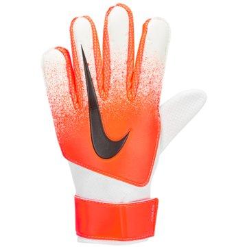 Nike Torwarthandschuhe orange