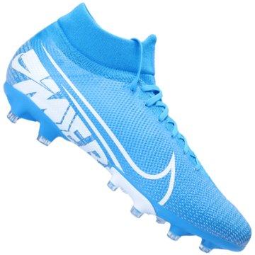 Nike Nocken-SohleMercurial Superfly VII Pro AG-Pro blau