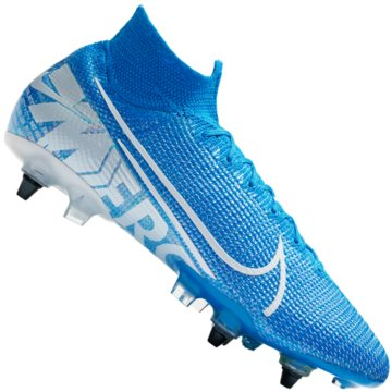 Nike Stollen-SohleMercurial Superfly VII Elite SG-Pro Anti-Clog blau