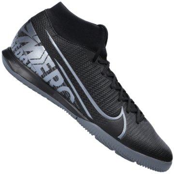 Nike Hallen-SohleMercurial Superfly VII Academy IC schwarz
