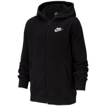 Nike SweatjackenB NSW HOODIE FZ CLUB - BV3699 schwarz