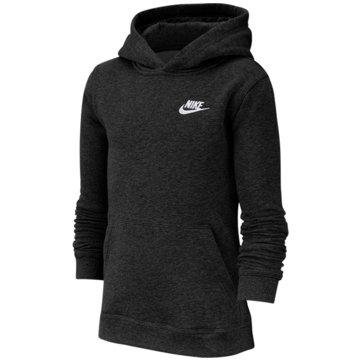 Nike HoodiesNike Sportswear Club Big Kids' Pullover Hoodie - BV3757-011 schwarz