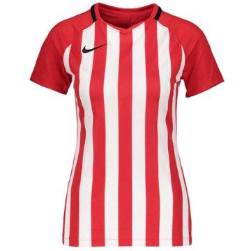 Nike FußballtrikotsNike Dri-FIT Division 3 Women's Striped Soccer Jersey - CN6888-657 rot