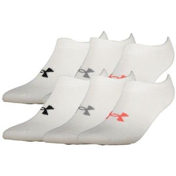Under Armour Hohe SockenEssentials No Show Socks 6er-Pack Women -