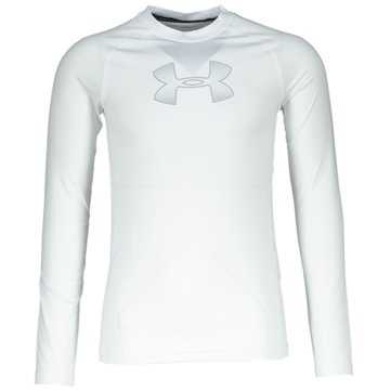 Under Armour LangarmhemdenJUNGEN T-SHIRT HEATGEAR® ARMOUR, LANGÄRMLIG - 1343014 weiß