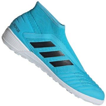 adidas Hallen-SohlePREDATOR 19.3 LL IN blau