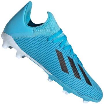 adidas Nocken-SohleX 19.3 FG J - F35366 blau
