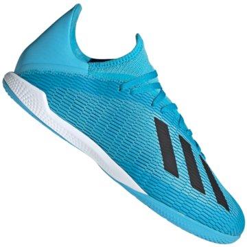 adidas Hallen-SohleX 19.3 IN - F35371 blau