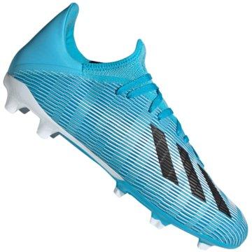 adidas Nocken-SohleX 19.3 FG - F35383 blau
