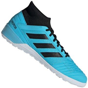 adidas Hallen-SohlePredator 19.3 IN blau