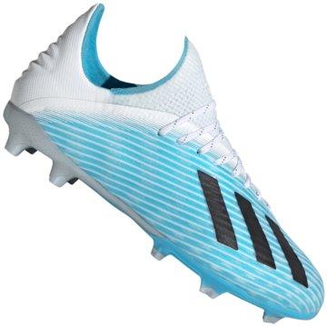 adidas Nocken-SohleX 19.1 FG J - F35684 blau