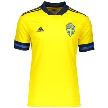adidas Fan-TrikotsSchweden Heimtrikot - FH7613 gelb