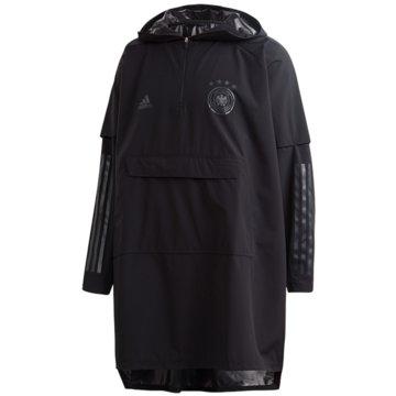 adidas WinterjackenDFB PONCHO - FL7915 schwarz