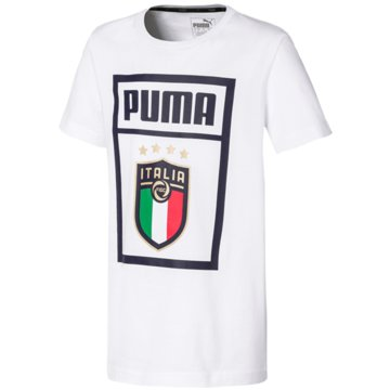 Puma Fan-T-Shirts weiß