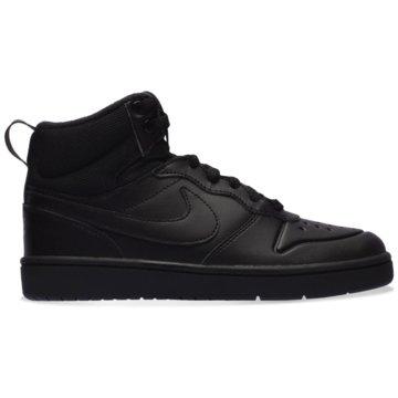 Nike Sneaker LowNike Court Borough Mid 2 Boot Big Kids' Shoe - BQ5440-001 schwarz