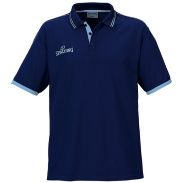 Spalding Poloshirts blau