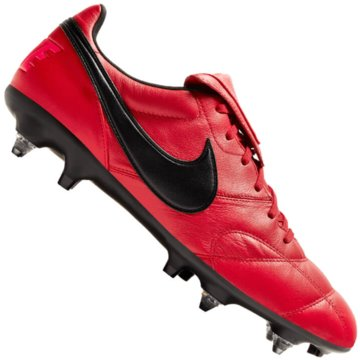 Nike Stollen-SohleMen's Nike Premier II Anti-Clog Traction (SG-Pro) Soft-Ground Football Boot - 921397-616 rot