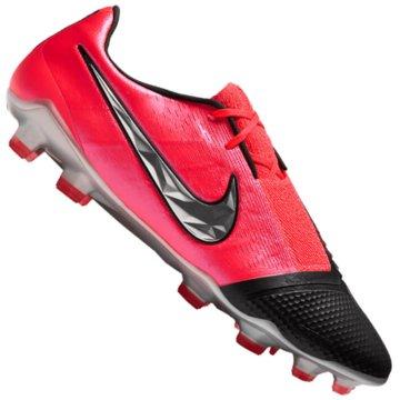 Nike Nocken-SohleNIKE PHANTOM VENOM ELITE FG FIRM-GR rot