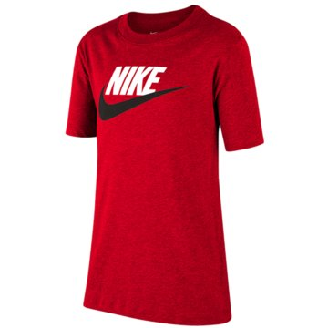 Nike T-ShirtsNike Sportswear Big Kids' Cotton T-Shirt - AR5252-660 orange