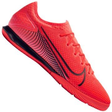 Nike Hallen-SohleNike Mercurial Vapor 13 Pro IC - AT8001-606 rot