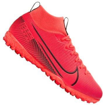 Nike Multinocken-SohleNike Jr. Mercurial Superfly 7 Academy TF - AT8143-606 rot