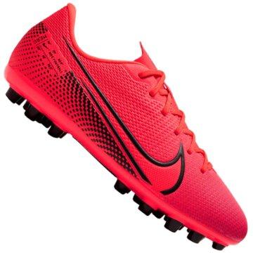 Nike Nocken-SohleNike Jr. Mercurial Vapor 13 Academy AG - BQ5500-606 rot