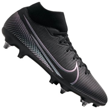 Nike Stollen-SohleMercurial Superfly VII Academy SG-Pro Anti-Clog Traction schwarz