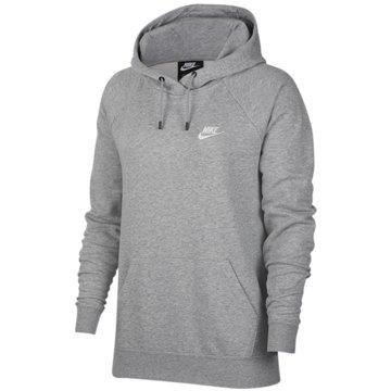 Nike HoodiesW NSW ESSNTL HOODIE PO FLC - BV4124 grau