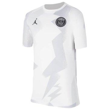 Jordan Fan-T-ShirtsNike Dri-FIT PSG - BV6168-100 weiß