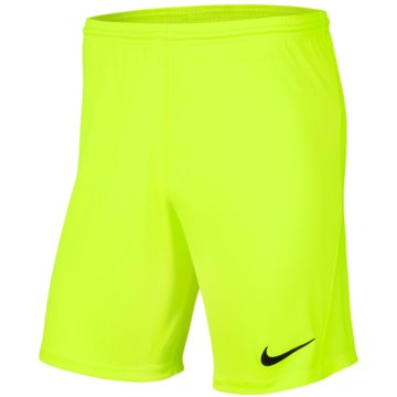 Nike FußballshortsDRI-FIT PARK 3 - BV6855-702 grün