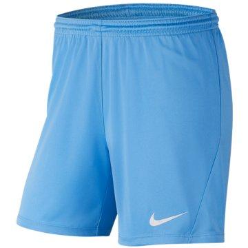Nike FußballshortsPark III Knit Short NB Women blau