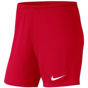 Nike FußballshortsDRI-FIT PARK 3 - BV6860-657 rot