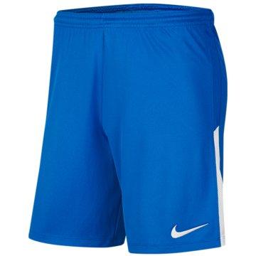 Nike Fußballshorts blau