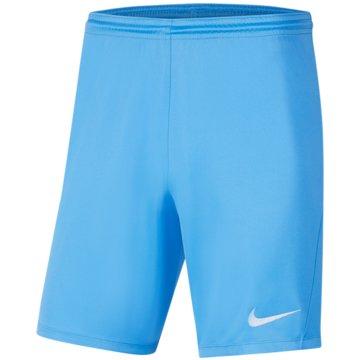 Nike FußballshortsDRI-FIT PARK 3 - BV6865-412 blau